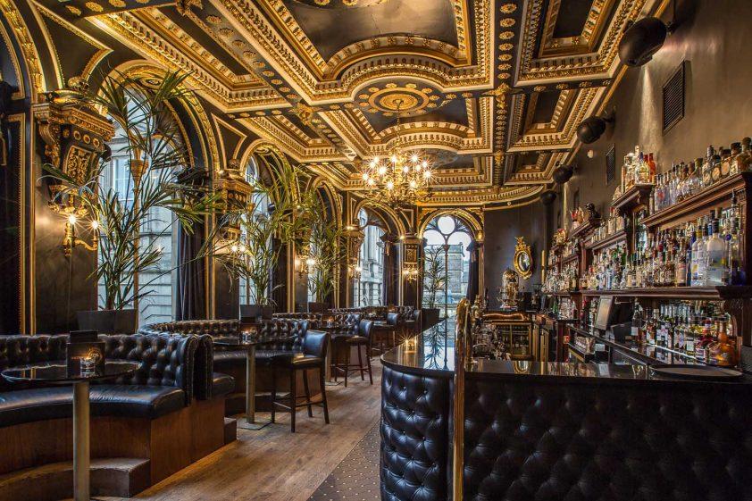 Inside the Voodoo Rooms in Edinburgh