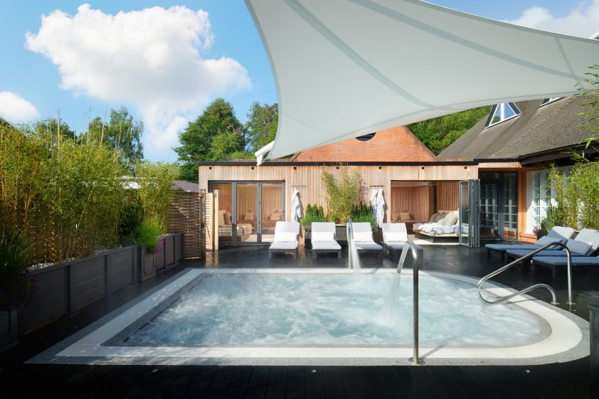 Champney Forest Mere Outdoor Thermal Pool