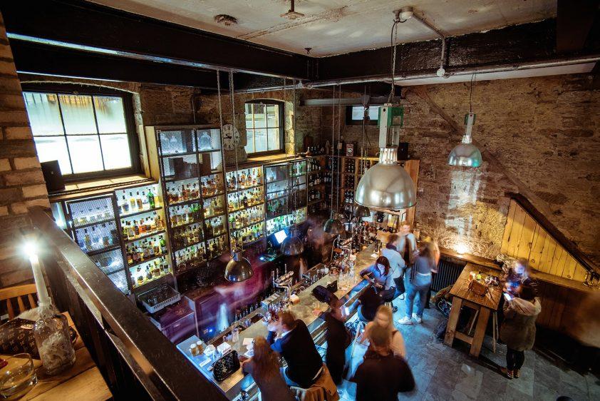 Devil's Advocate Bar in Edinburgh