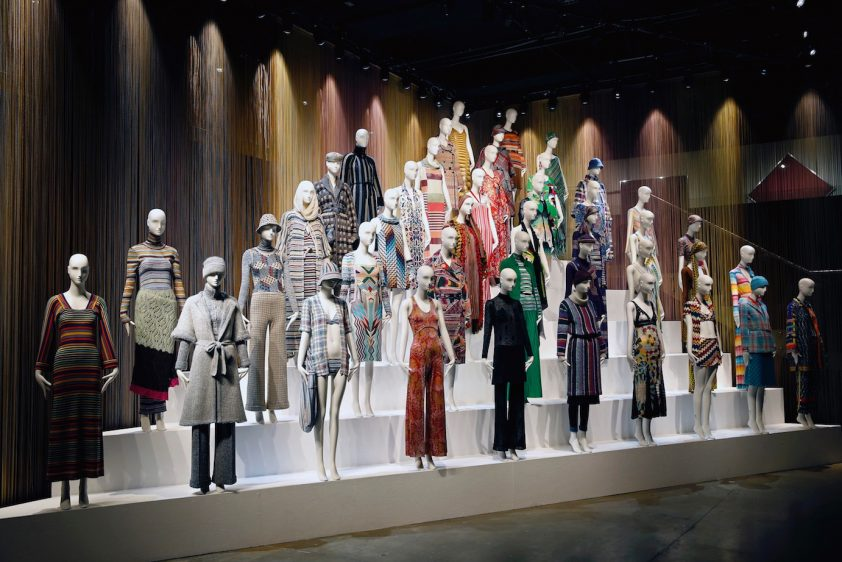 Exhibit at The Fashion and Textile Museum