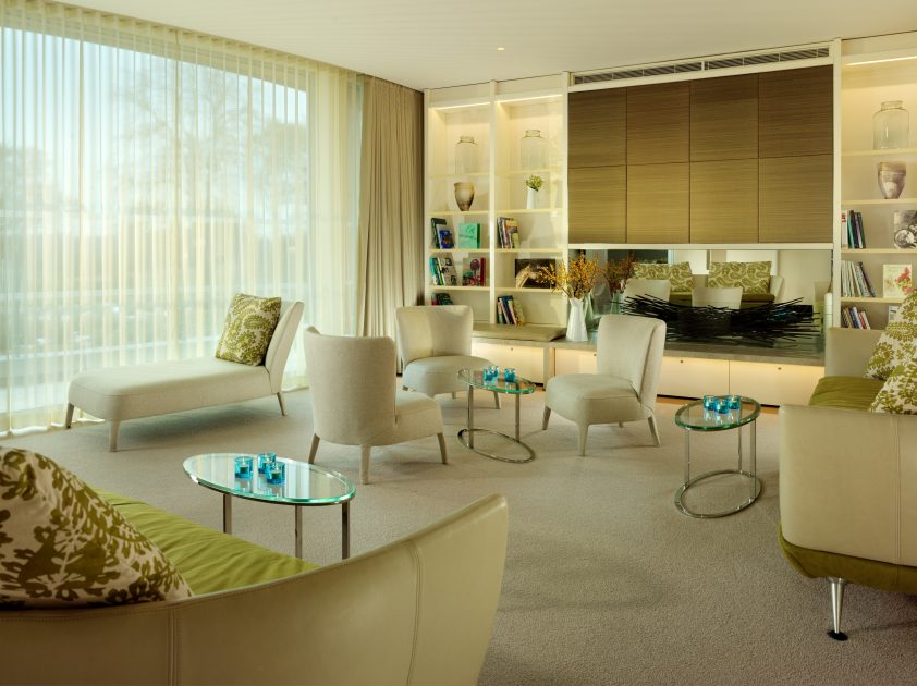The Spa at Coworth Park Relaxation Room