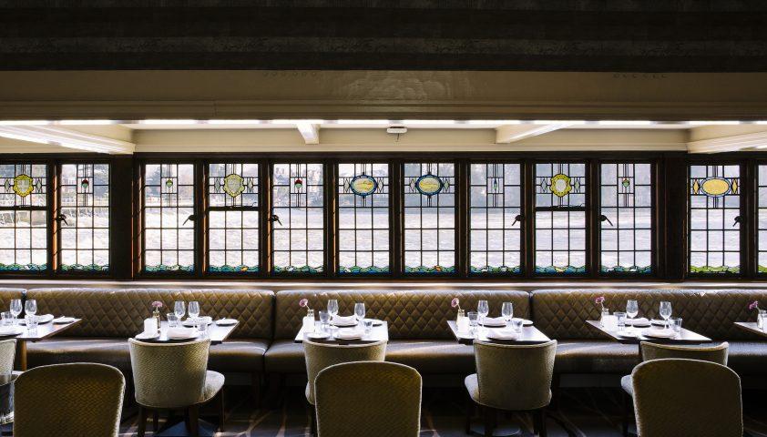 Inside Sinhu, Indian Restaurant London