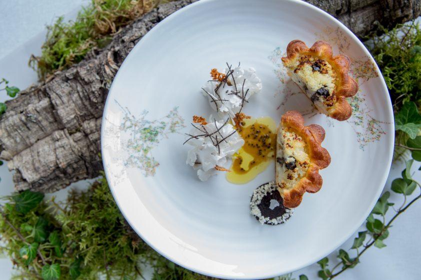 Cauliflower, Comté Garde Exceptionnelle at Alain Ducasse at The Dorchester