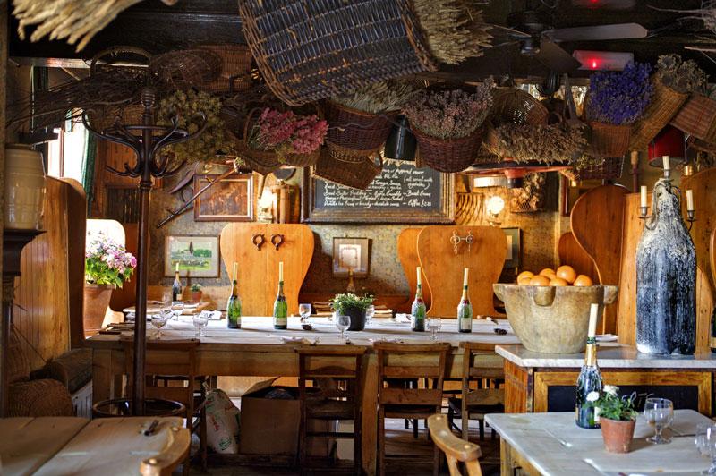 Warm and cosy restaurant in London, Maggie Jones's