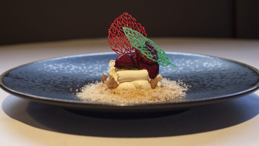 Dish from Michelin Star Restaurant, The Square