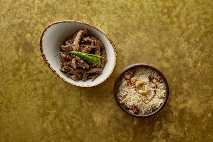 Indian dishes at Darjeeling