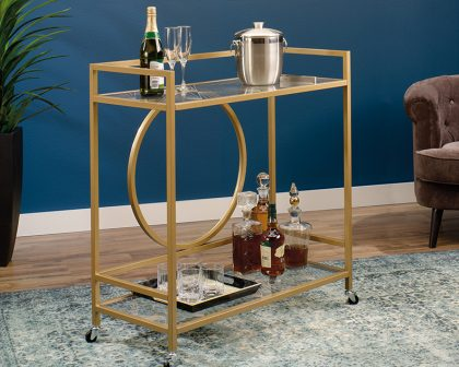 Lux Bar Cart for him