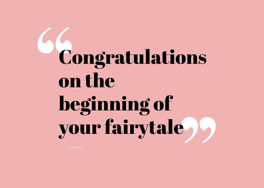 Congratulations Wedding Card Message