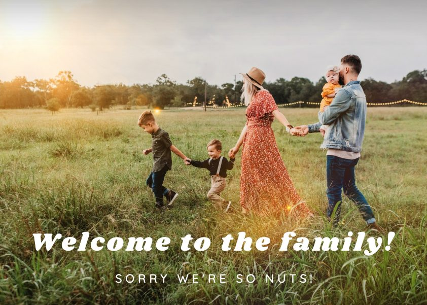 Family Wedding Card Message