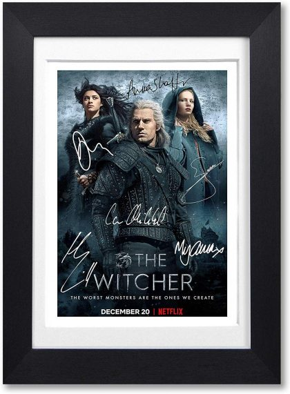 The Witcher Signed Poster
