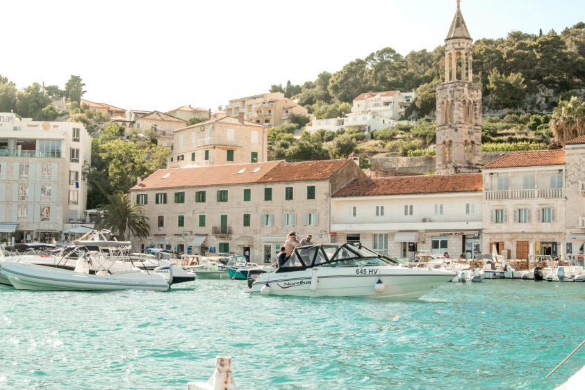 Boats in Hvar, Croatia