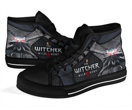 The Witcher wolf sneakers