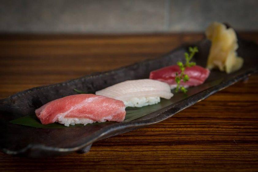Sushi at Kouzu