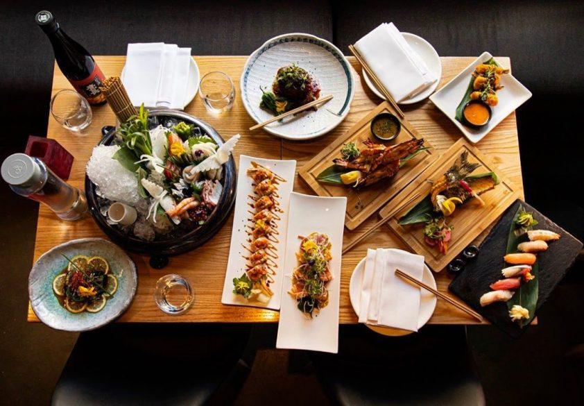 Sushi at Yama Momo