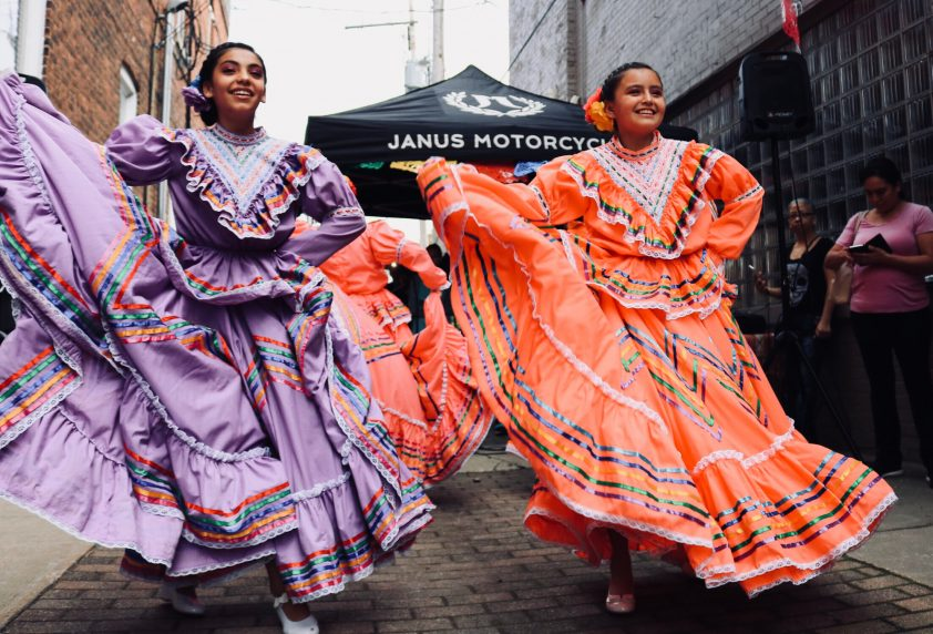 Happy Dancing Women in Mexico