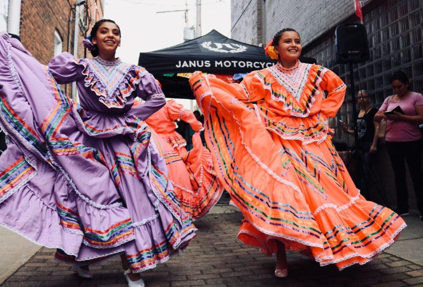 Happy Dancing Women in Mexico