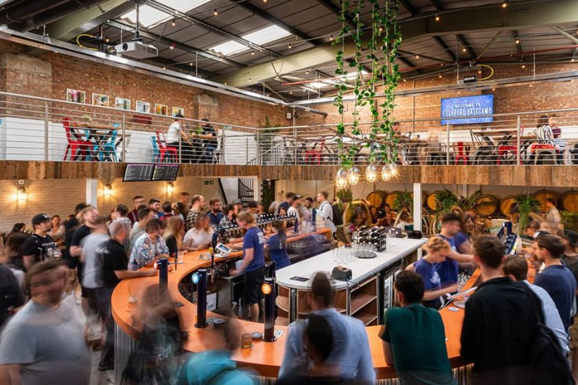Hustle and Bustle of Fourpure Brewing Co