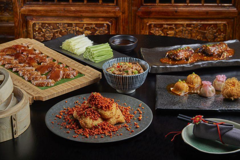 Hutong set lunch menu