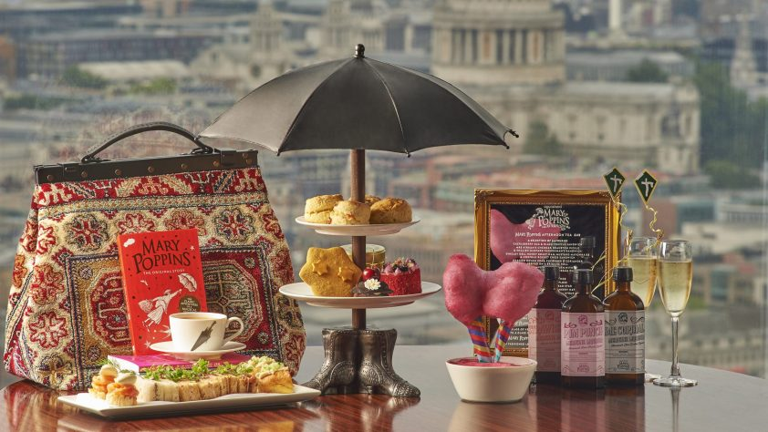 Mary Poppins Afternoon Tea at Aqua Shard