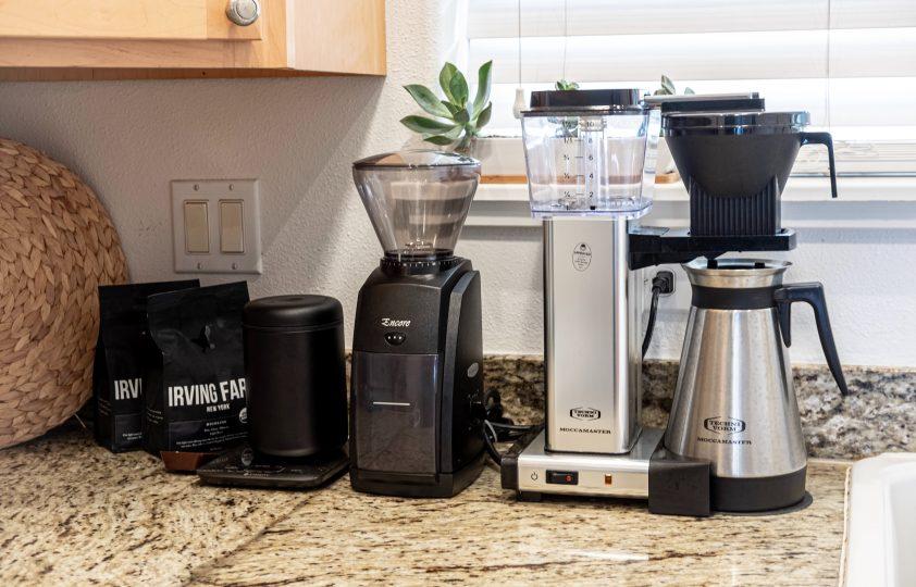 Coffee machine for modern 4th wedding anniversary gift