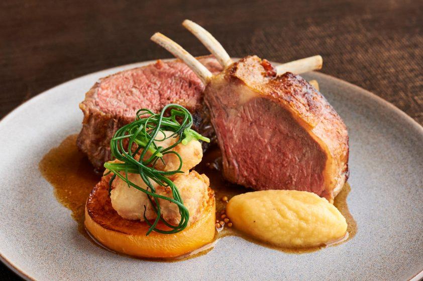 lamb dish at Ting