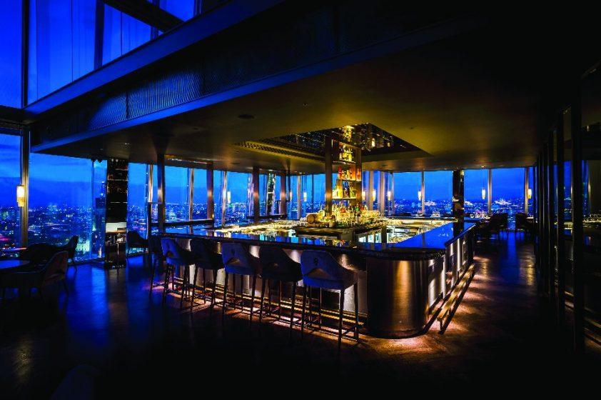 Atrium Bar of Aqua Shard