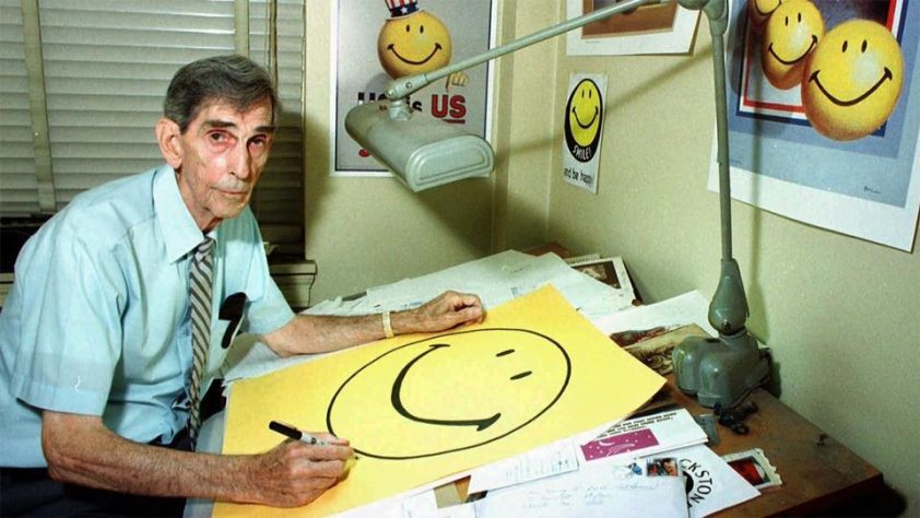 Harvey Ball, creator of the Smiley face.