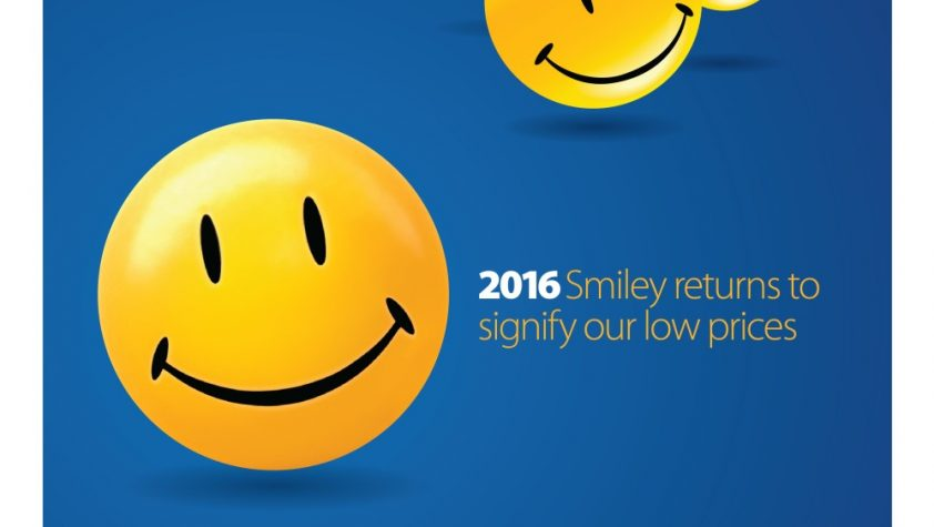 The Walmart smiley