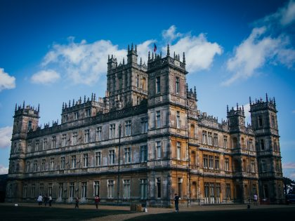 Highclere Castle, location for Downton Abbey