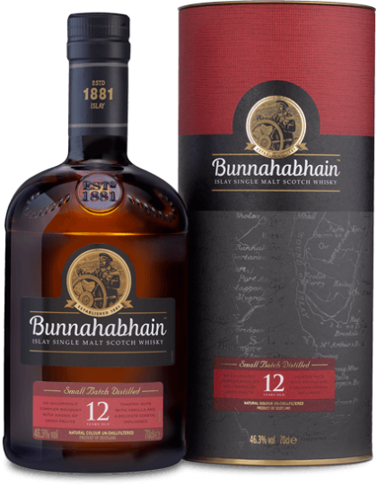 Bunnahabhain 12 year old whisky