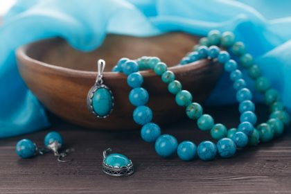 Turquoise 11th anniversary gemtstone