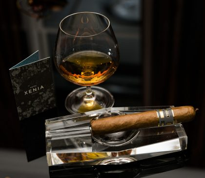 Cigar and whisky pairing Hotel Xenia