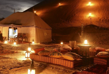 Moroccan Luxury Desert Camp Stay