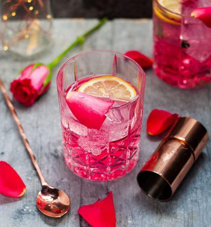 Rose cocktail masterclass