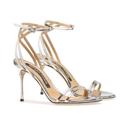 Sergio Rossi Godiva steel heels