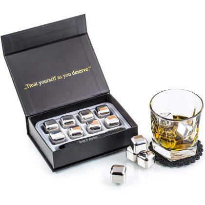 Steel Whisky Stones