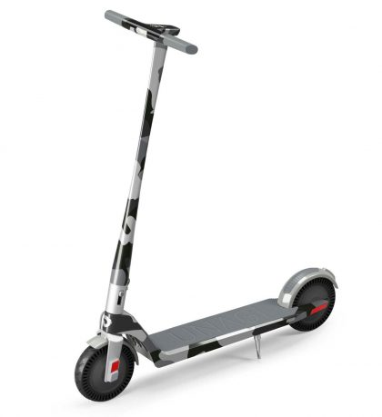 Electric Scooter Camo Design