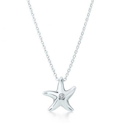 Starfish pendant 18th birthday gift for her