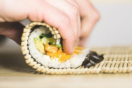 Sushi making kit for 30th birthday gift