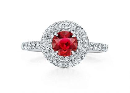 Tiffany Ruby Soleste Ring