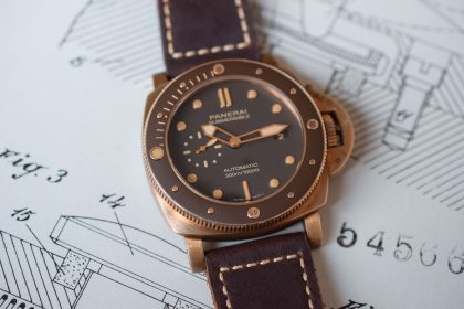 Panerai Submersible Bronzo watch for him