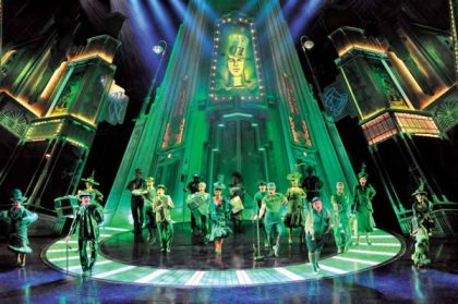 Wizard of Oz Emerald City at London West End