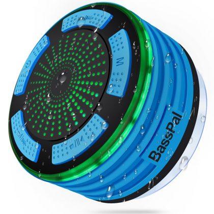 BassPal Bluetooth Shower Speaker