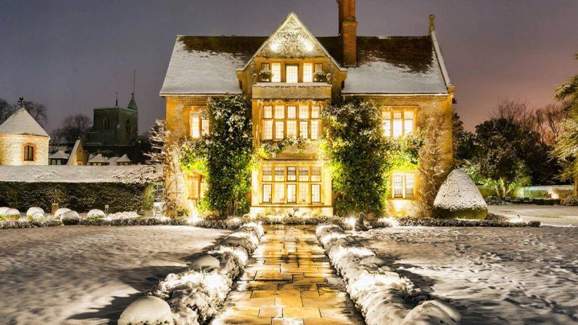 Christmas break at Belmond Le Manoir aux Quat'Saisons