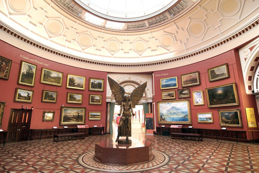 Inside the Birmingham Museum and Art Gallery