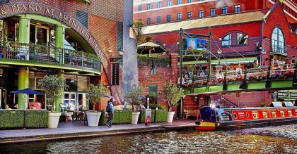 Brindley Place - Things to do in Birmingham