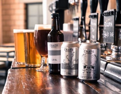 CRATE brewery