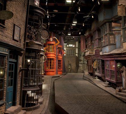 Diagon Alley at Warner Bros Studio Tour Making of Harry Potter