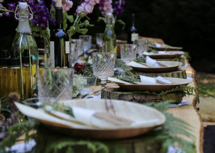 Immersive Woodland Dining