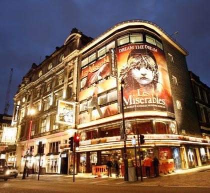 London theatre West End